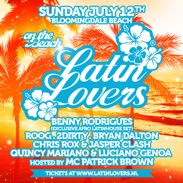 Latin Lovers @ Beachclub Bloomingdale.